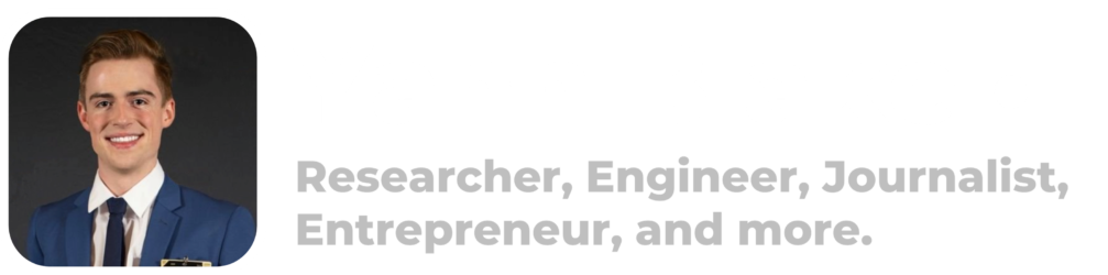 Yann Blake • Researcher, Engineer, Journalist, Entrepreneur.